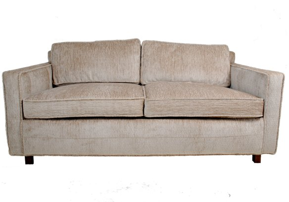 Chenille Loveseat and I